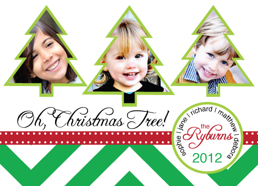 holiday photo cards - Oh Christmas Tree by Brittany Dyer