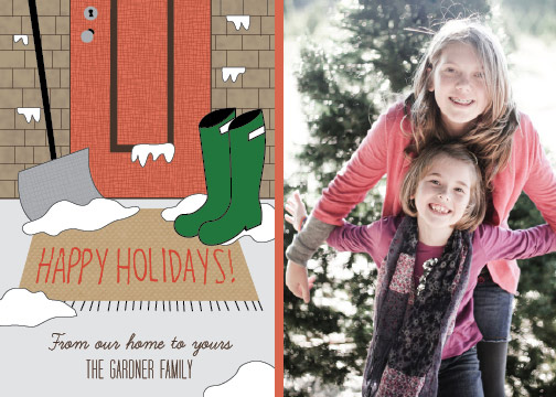 holiday photo cards - From Our Home by By Birch