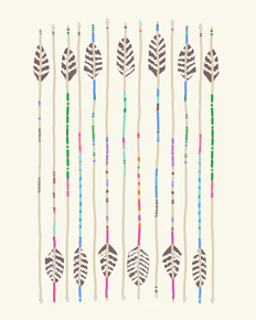 art prints - Arrows. by Jorey Hurley