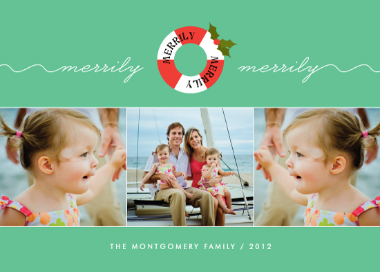 holiday photo cards - Merrily Merrily by Kim Dietrich Elam