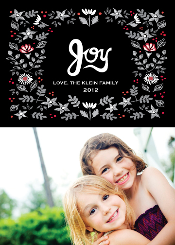 holiday photo cards - Festive Garden by Monica Schafer
