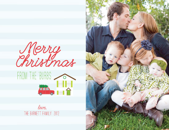 holiday photo cards - Suburbian Christmas by Wendy McClure