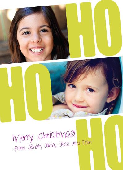holiday photo cards - Ho Ho Ho by muffina