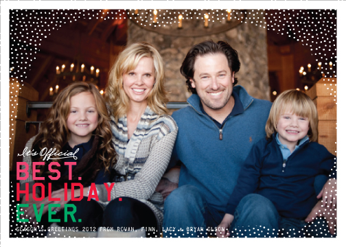 holiday photo cards - Best. Holidays. Ever. by campbell and co.