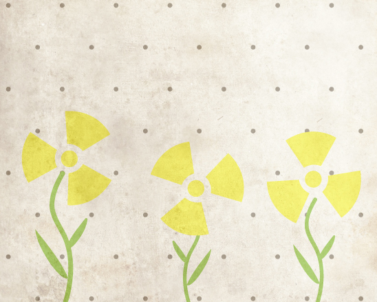 art prints - Radioactive Flowers by BitsyCreations