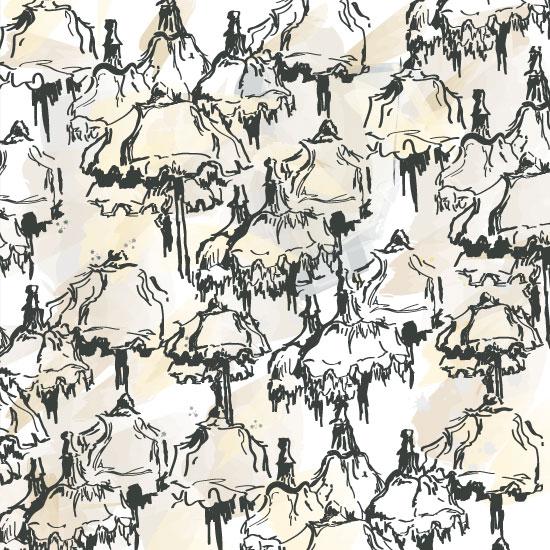 art prints - Under the Tuscan Umbrella by Aleks Byrd