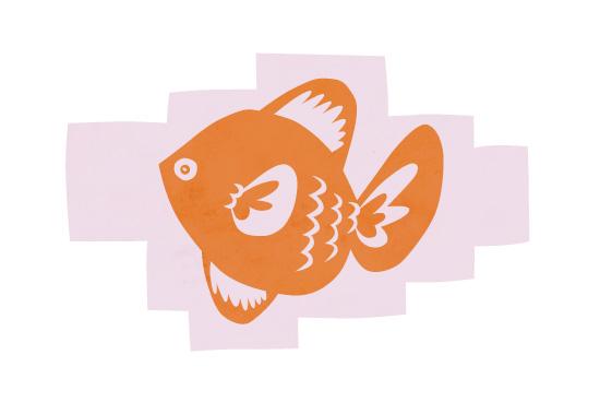 art prints - Fishie 2 by Annette Allen