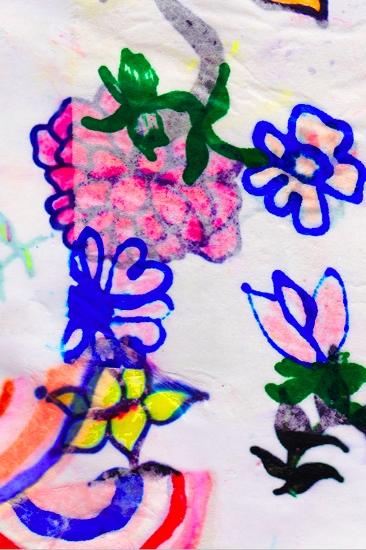 art prints - Flower Power Punch by Kristi Kohut - HAPI ART AND PATTERN