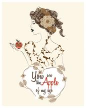 You are the Apple of my... by Demoiselle Carine