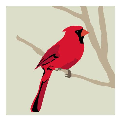 art prints - Cardinal by Faye Femister