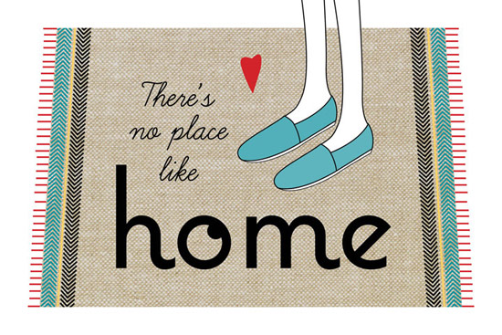 art prints - There's No Place Like Home by By Birch