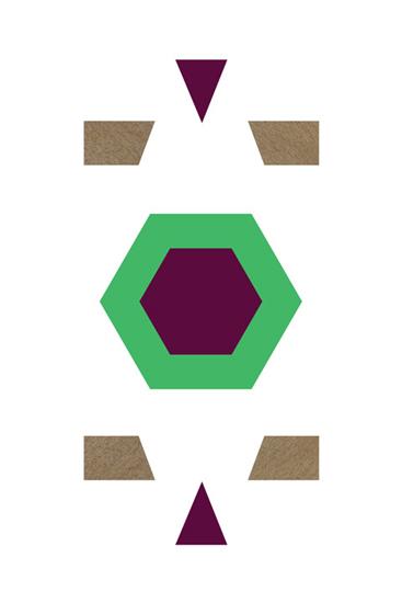 art prints - Green Octogan  by By Birch