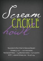 scream cackle howl by Aly Crockett