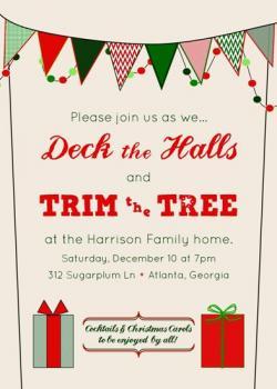 Deck the Halls & Trim the Tree