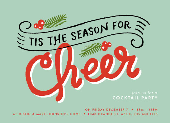 party invitations - Cheer Season by Alethea and Ruth