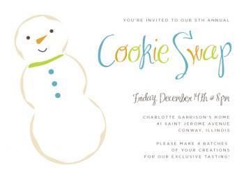 Cookie Swap Snowman