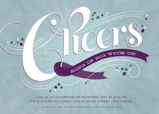 party invitations - Sparkling Confetti by Jessica Williams