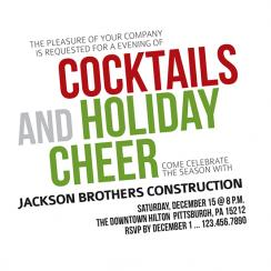 Cocktails and Holiday Cheer