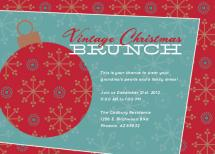 Vintage Christmas Brunc... by Paper Snack
