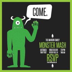 Manson Family Monster Mash