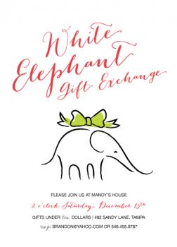 A White (Elephant) Christmas