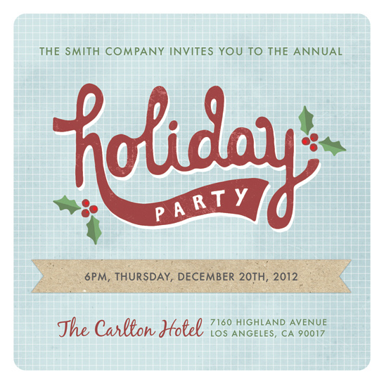 party invitations Crafty Office Holiday Party at Minted – Office Holiday Party Invites