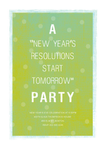 party invitations - Resolutions by Jenn Johnson