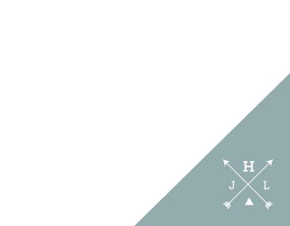 personal stationery - Corner Monogram by Kayla King