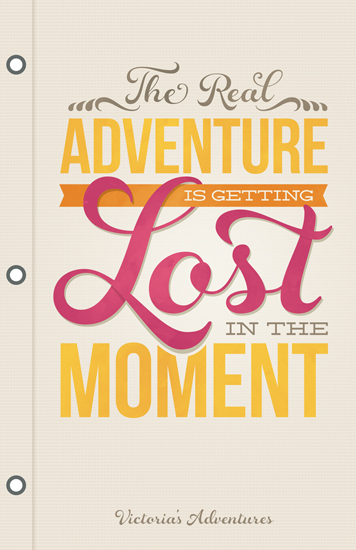 journals - Real Adventure by GeekInk Design