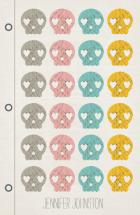 scribble skulls  by Yellow Button Studio