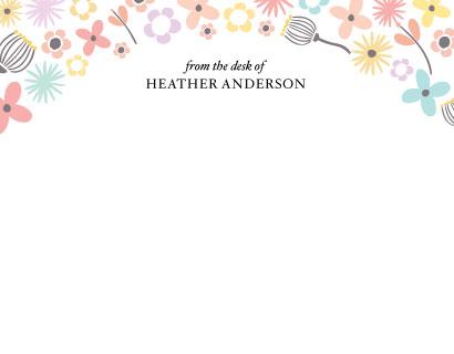 personal stationery - Garden by Anna Elder