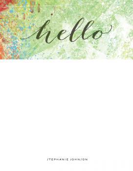 watercolor greetings