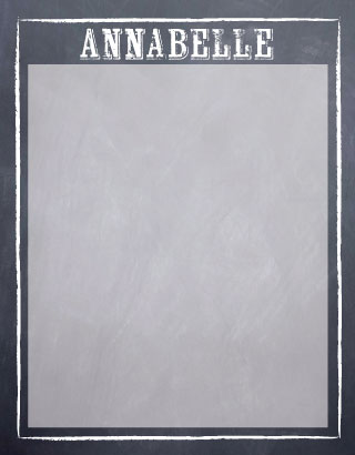 personal stationery - ChalkboardNotes by Alli