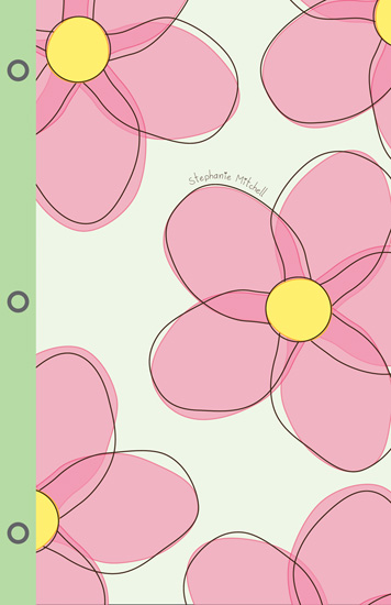 journals - Flower Power by Jennifer Gregory
