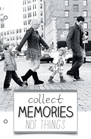 journals - Collect Memories by Jennifer Fuller