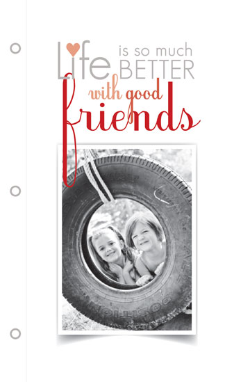 journals - Life is Better with Friends by Jennifer Fuller