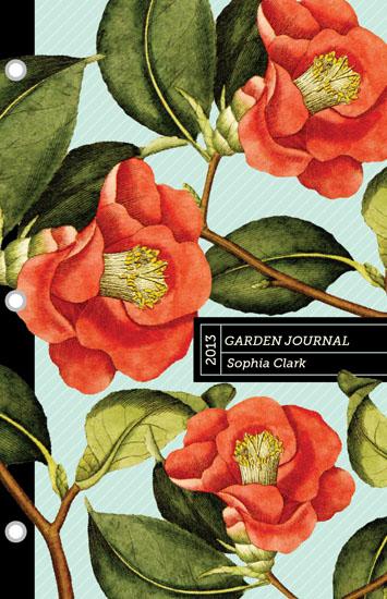 journals - botanical garden journal by Jessica Booth