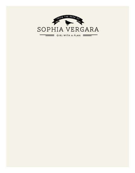 personal stationery - Correspondence by chica design