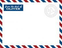 air mail by EKJ designs
