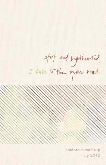 journals - The Open Road by Kristen Vasgaard