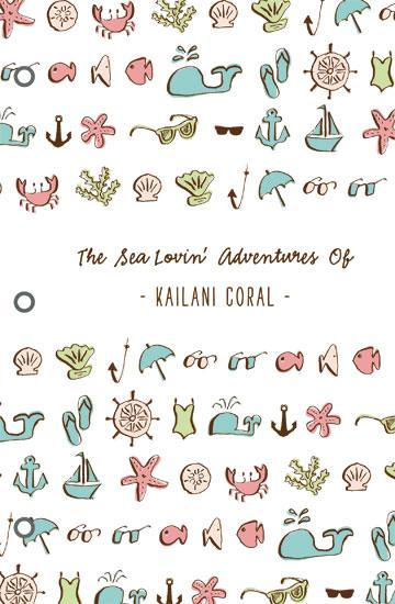 journals - sea lovin' adventures by Waui Design