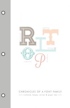 chronicles of a font family