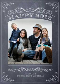 Chalkboard New Year
