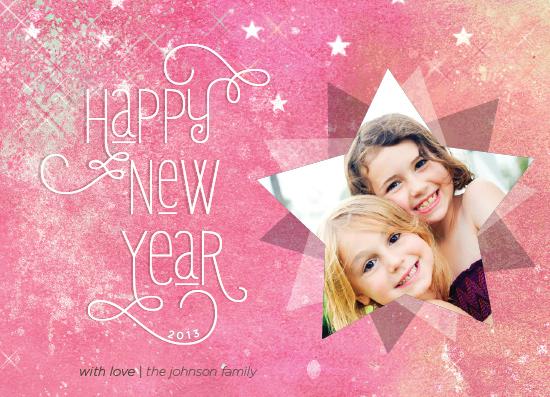 new year's cards - stellar by Rebecca Bowen