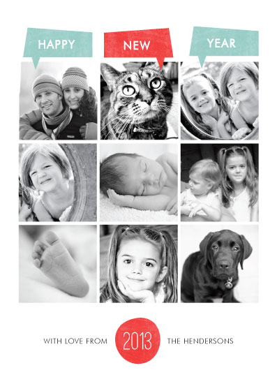 new year's cards - Year of Photos by Bonjour Berry