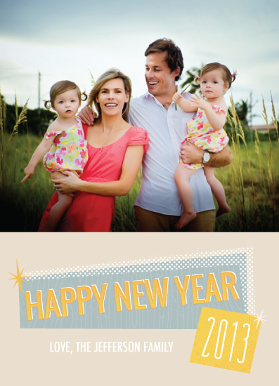 new year's cards - Throwback by Kayla King