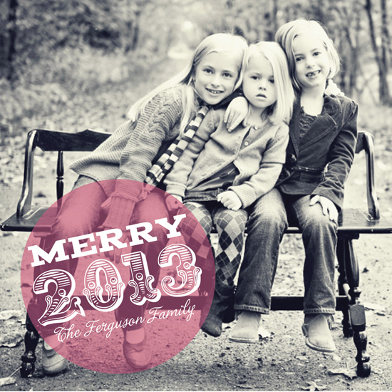 new year's cards - Spotlight by Jennifer Gregory