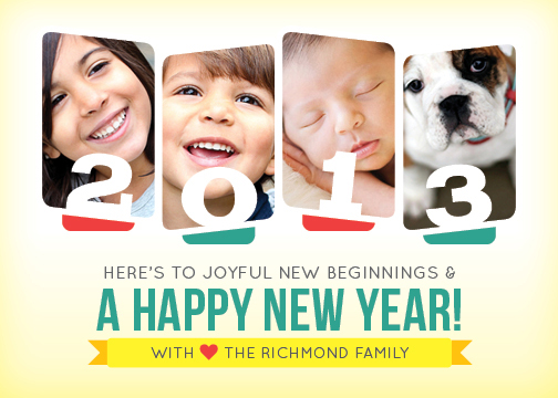 new year's cards - Joyful Faces by Traci Marquis