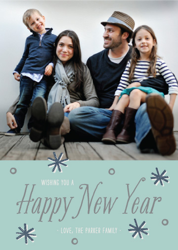 new year's cards - A Little Sparkle by Amber Barkley