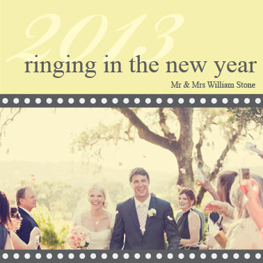 new year's cards - Ringing NY by Kelly Ethier